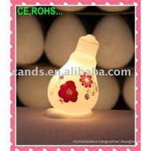 Home Decoration Painting Lampshade Ceramic Light