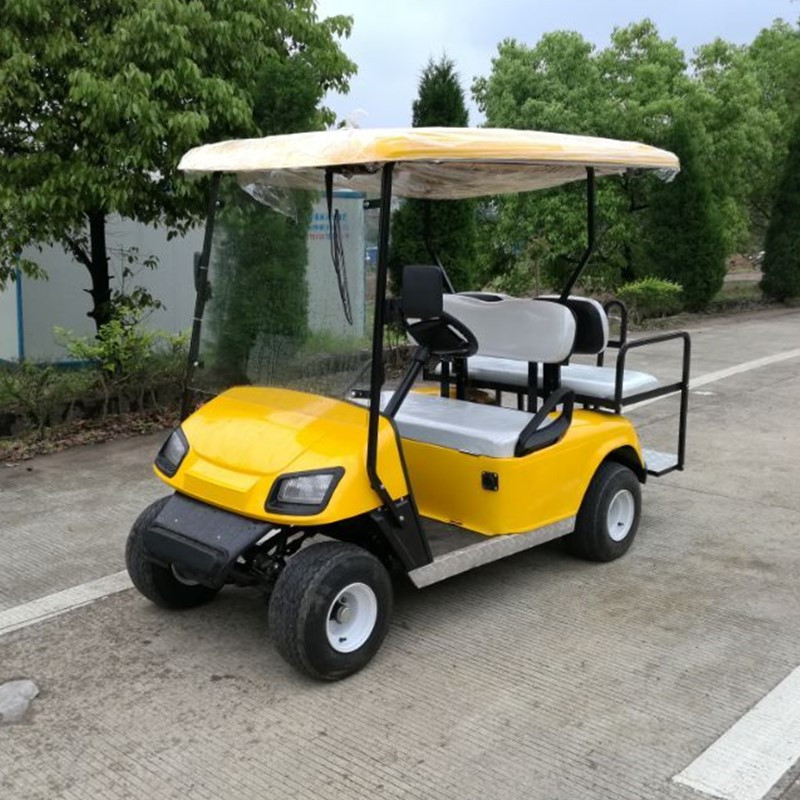 4 seat electric latest version golf cart for golf club