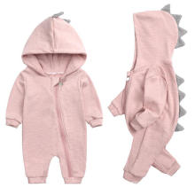 New Style Cotton Clothes Baby Autumn Rompers Long Sleeve Dinosaur Baby Romper