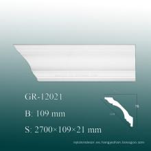 Molduras de panel de pared de PU de fácil instalación