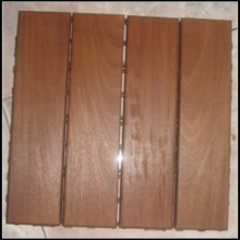 Ipe Outdoor Wood Decking Tiles
