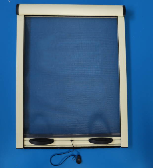 Aluminium roll up screen windows with mosquito net