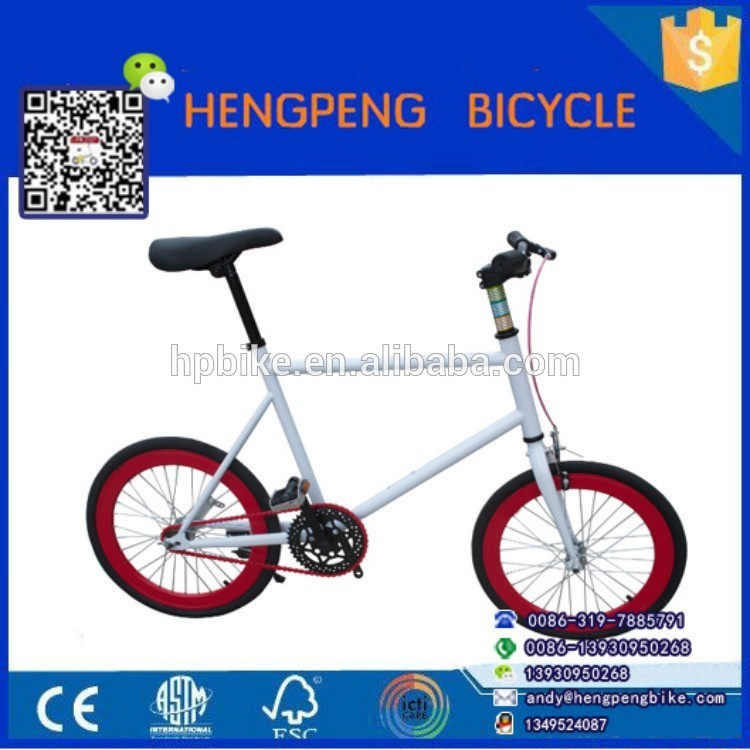 high quality steel frame with colorful rims