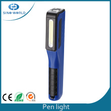 3W COB Battery Powered Pen Flashlight