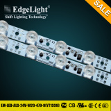 Edgelight Particular design led strip light with ce ul certification in china market