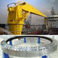 Roulement d'orientation à grand diamètre pour grue portuaire 3-945g2
