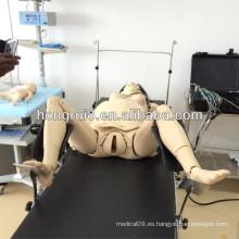 Modelos ISO de la mujer embarazada y del bebé, simulador avanzado del entrenamiento del parto