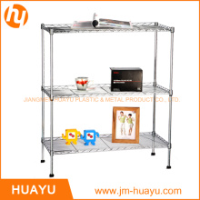 Awesome 3 Tier Chrome Homeware Display Stand Wire Shelving