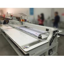 Máquina de bordar con tapa de 1000rpm de cabezal único modelo nuevo Wy1501hl