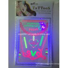Fluorescence Temporary Tattoo Sticker