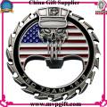 Herausforderung Münze mit 3D Logo Gravur