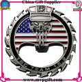 Challenge Coin with 3D Logo Engraving