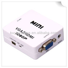 Mini VGA to 2 HDMI Converter Box