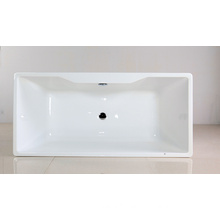 Acrylic Soaking Tub in Freestanding Style