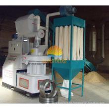 Máquina de pellets de biomasa de gran capacidad 0.8-1.5t / H con matriz de anillo vertical (MXKJ - 9S - 1)