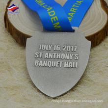 Die casting new design antique colour medal with logo