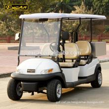 Ventas al por mayor A1S4 carritos de golf eléctricos carrito de golf barato buggy eléctrico golf con Cargo