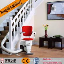 La Chine fournit des plates-formes élévatrices hydrauliques pour fauteuils roulants / ascenseurs inclinés pour ascenseurs pour handicapés