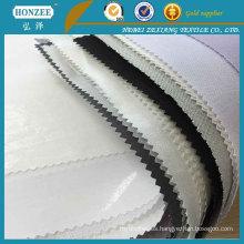 Tela de forro estampada de algodón popular para el cuello de la camisa