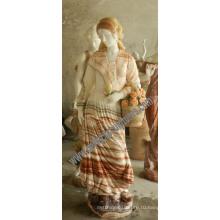 Резьба по камню Мраморный сад статуя для внутренней скульптуры (SY-C1226)