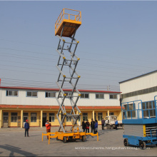 Hot sale! 6m 10m  Light Duty Hydraulic Mobile Scissor Lift Platform with best price
