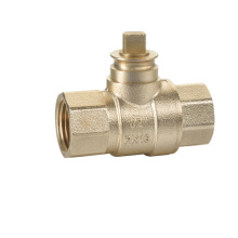 J2060 forged cw617n brass lockable ball cock valve