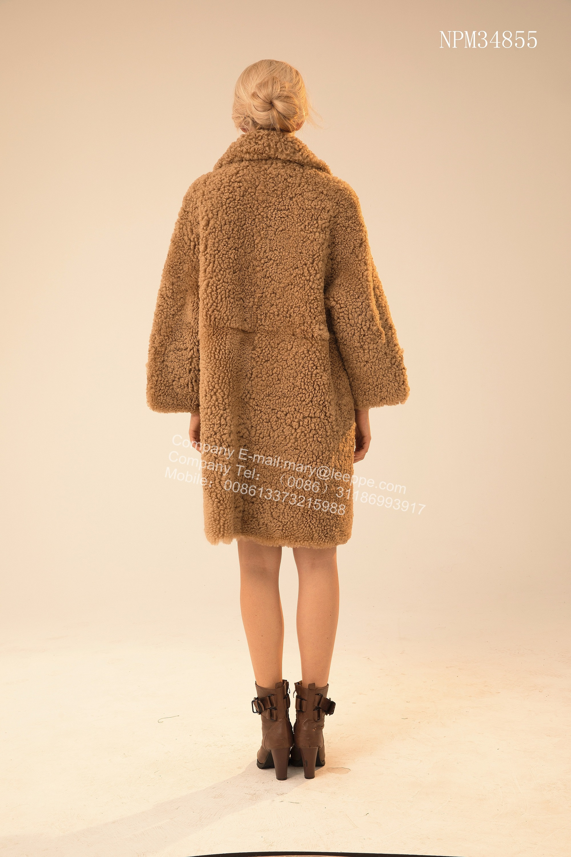 Australian Merino Shearling Fur Outward Coat