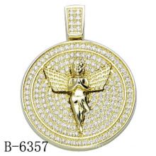 Latest Design Jewelry 925 Sterling Silver Pendant with Diamond