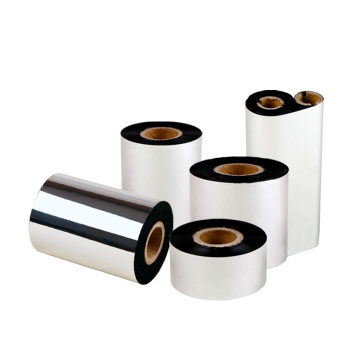 Custom size thermal transfer wax resin printer ribbon