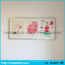 Hermosa caja de luz LED Slim Poster Frame