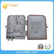 1 * 8 PLC / 1 * 16 boîtes de distribution optique PLC 16 ports pour LC, SC, ST, FC