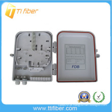 1 * 8 PLC / 1 * 16 PLC 16 porta caixa de distribuição óptica para LC, SC, ST, FC