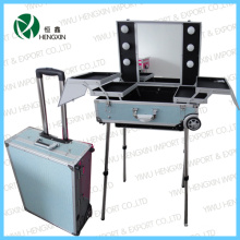 Makeup Case Light Cosmetic Case with Mirror (HX-W2952)