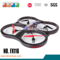 2.4G 4 channel 4 rotor black foam plastic model helicopters