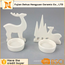 Elk Design Christmas Candle Holder (Christmas decoration)