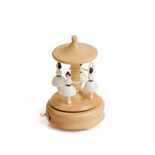 Nuevo diseño de caja de música de madera hecha a mano para bolígrafo