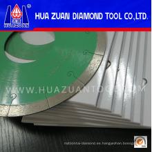 Hoja de sierra de diamante de 7 pulgadas para cerámica