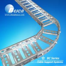 Bandeja de cable de escalera con buena tasa de carga y precio barato