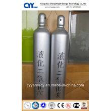 Dioxyde de carbone liquide Nitrogen Oxygen Argon Cylindre à gaz en acier sans soudure