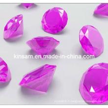 Artisanat en cristal de diamant en verre pour le cadeau de Noël