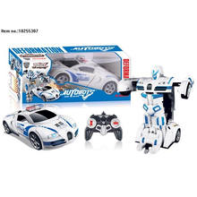 Deformación 5 función de R/C coche juguetes con luz y música
