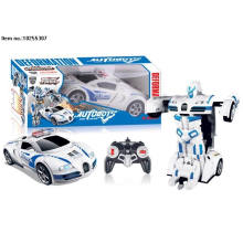 5 função R/C brinquedos carro deformação com luz e música