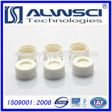Manufacturing 24-400 White Open Top Schraube Kunststoff Cap mit PTFE Silikon Septa