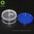 Embalaje compacto de la caja compacta del polvo flojo del casquillo púrpura