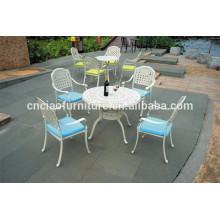 Muebles de aluminio para hotel / restaurante / villa / proyecto de resort