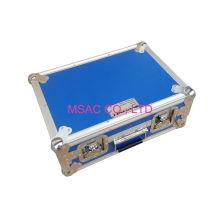 Metal Handle Aluminum Tool Cases 5mm Eva For Travel , 460 *330*175mm