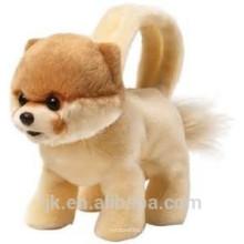 La felpa de encargo de la fábrica del ICTI rellenó la bolsa del perro de juguete