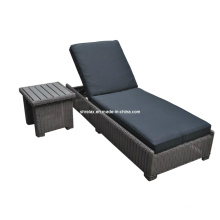 Garden Wicker Outdoor Rattan Patio Furniture Pool Sunlounger