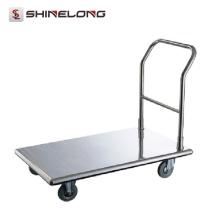 Venta caliente de productos más vendidos Panadería carrito de panadería carrito de acero inoxidable móvil