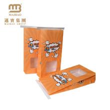 O costume imprimiu as microplaquetas de batata da pipoca do serviço do Oem que empacotam o saco de papel de embalagem
